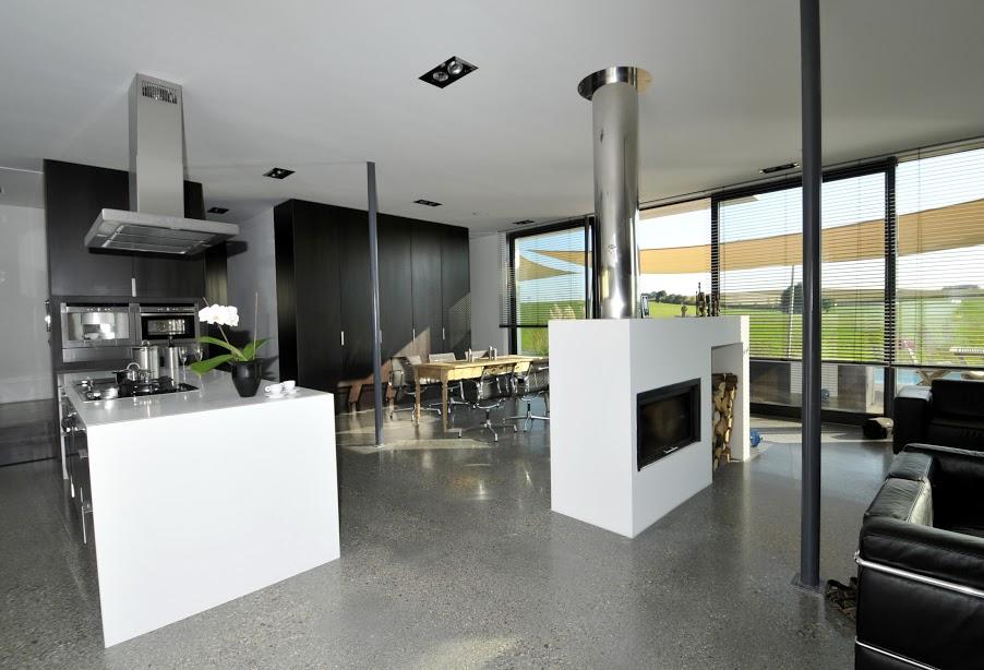 Flachdach Passivhaus mit XPS gebaut