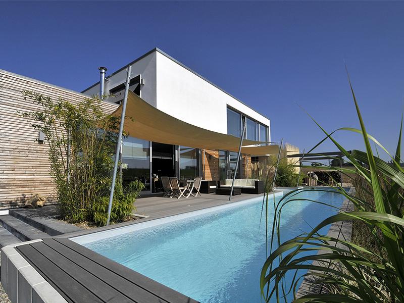 Pool gebaut mit XPS
