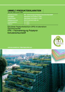 XPS Umwelt-Produktdeklaration